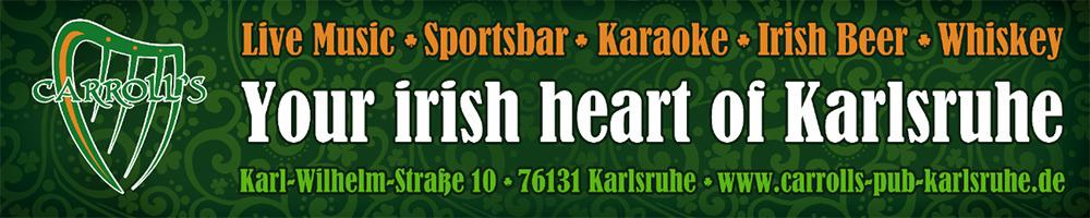 Sponsoren: Carrolls Irish Pub